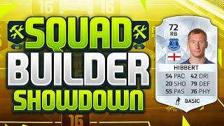 FIFA 16 SQUAD BUILDER SHOWDOWN!!! TONY HIBBERT!!! Everton Legend Hibbert Squad Builder Duel