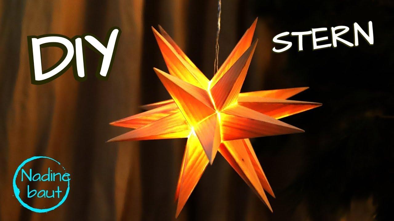 Weihnachtsdeko Selber Machen 3d Weihnachtsstern Stern Aus Holz Bauen How To Make A Wooden Star