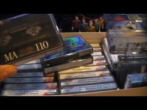 Musings on Cassettes, Estate Sales, and a few other things.
