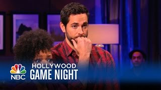 Yvette Nicole Brown & Zachary Levi Play Celebrity Name Game - Hollywood Game Night