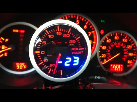 srt4 boost gauge hook up