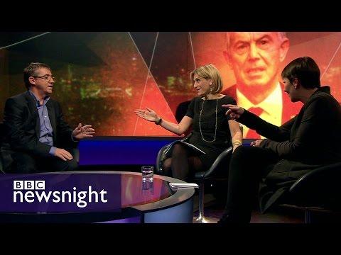 Tony Blair: Time to return to British politics? - BBC Newsnight