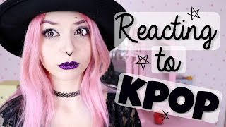 "Video ""Goth"" Reacts To Kpop download MP3, 3GP, MP4, WEBM, AVI, FLV Maret 2018"