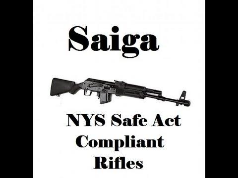 Saiga Rifles - NYS Safe Act compliant AK variant