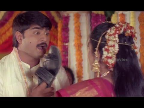 Superb Scene From  English Pellam East Godavari Mogudu Movie - Srikanth, Ramya Krishna