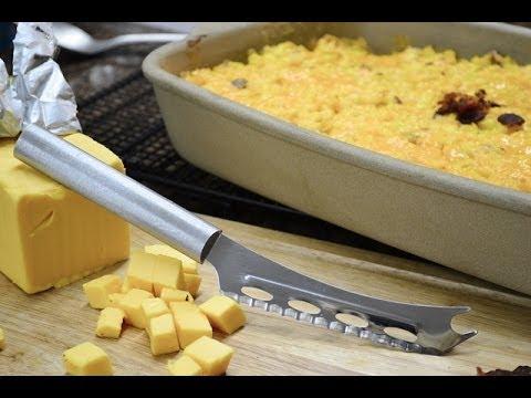Cheesy Corn Casserole Recipe   RadaCutlery.com