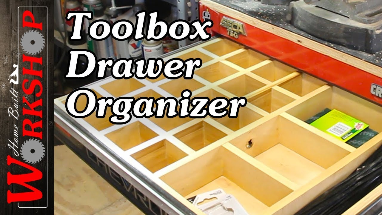 How To Make A Toolbox Drawer Organizer Youtube