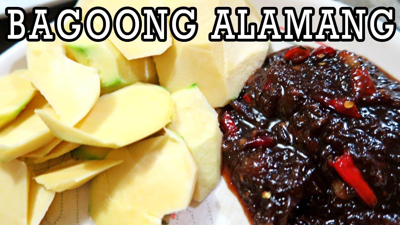 how to cook bagoong alamang