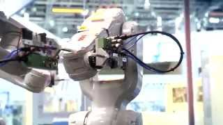abb robotics irb 1200 and integrated vision at automatica 2014