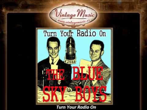 THE BLUE SKY BOYS CD Vintage Country. Turn Your Radio On , Kentucky ,Alabama ..