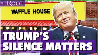 Trump Is Silent About Black Victims at Waffle House Shooting
