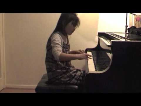 Simone Qiu's Piano Playing At Home