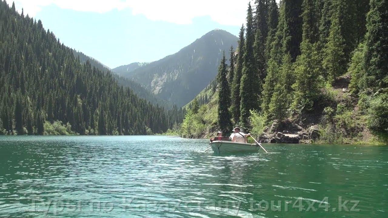Отдых и рыбалка на Кольсайских озерах. Туры по Казахстану.