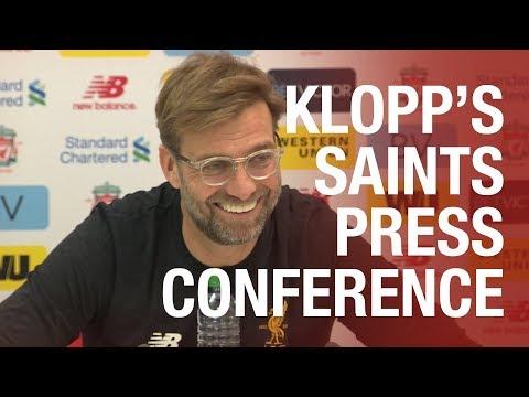 Press Conference | Klopp previews Southampton game