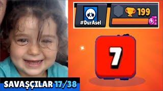 Kızım 7'ye Aşık❤️  200 KUPADA 17 KARAKTER #DurAsel #BabaBunuYap Brawl Stars