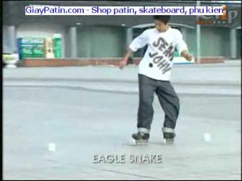 Học Slalom cơ bản Eagle Snake cua bò