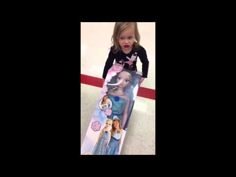 Little girl thug life  FROZEN DOLL