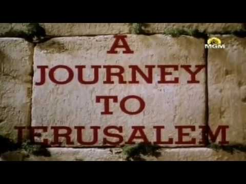 A JOURNEY TO JERUSALEM 1967 With Leonard Bernstein & Isaac Stern FULL המסע לירושלים