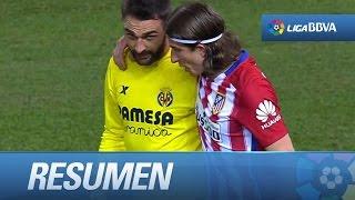 Resumen de Atlético de Madrid (0-0) Villarreal CF