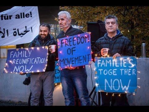 Bundesregierung blockiert Familienzusammenführungen – Solidaritätskundgebung in Berlin