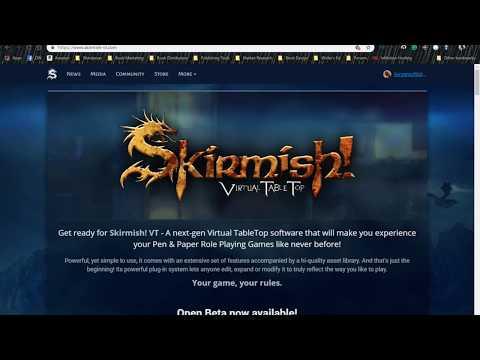 Skirmish VTT Software Tutorial: Overview
