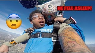 SKYDIVING FAIL *MY PARACHUTE FAILED AND INSTRUCTOR PASSED OUT*