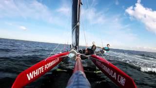 Whisper Catamaran Foiling Ouddorp