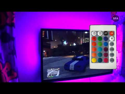 LED USB Light Strip With Remote Controller - Bought From Aliexpress