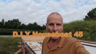 Zwerven met Juki 6, D.I.Y. Houseboat 45, even bijpraten/uitleggen