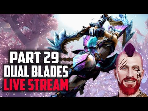 🔴 Monster Hunter World | Road to HR100 | Viewers can join! WRECKING FACE WITH DUAL BLADES!