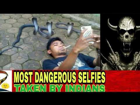 Most Dangerous Selfies Taken by Indians