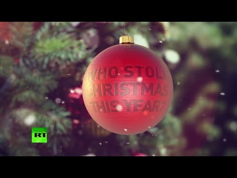 Opening winter presents underneath winter tree: Christmas – another victim of PC?