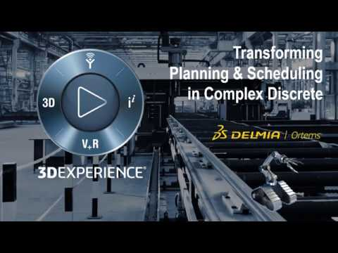 Webinar: Planning and Scheduling for Complex Discrete Manufacturing   DELMIA