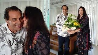 Hema Malini celebrates Dharmendra Ji