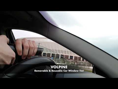 Removable & Reusable Car Window Tint By VOLPINE