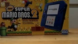 Nintendo 2DS Electric Blue 2 With New Super Mario Bros 2 Review