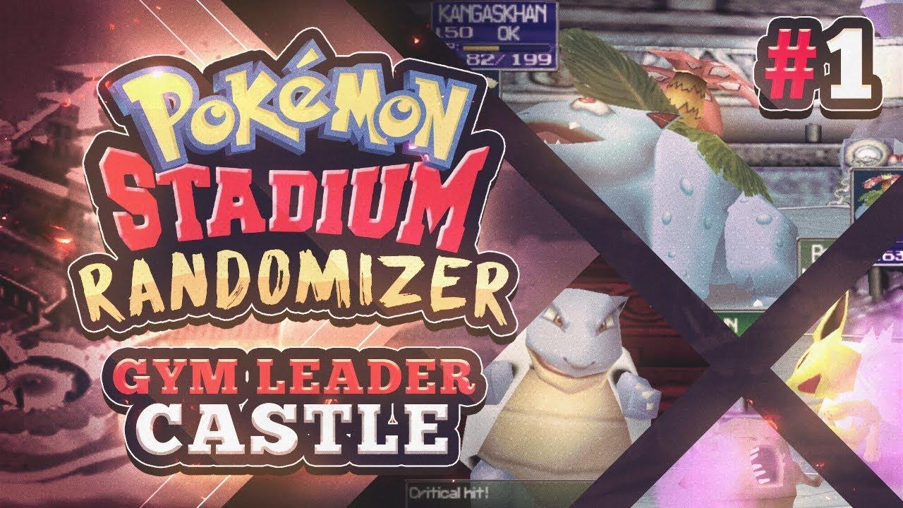 Pokemon Stadium Randomizer Gym Leader Castle Part 1