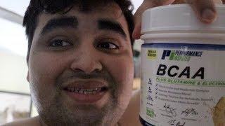 FIRST TIME TAKING AMINO ACIDS | Weight Loss Vlog #107