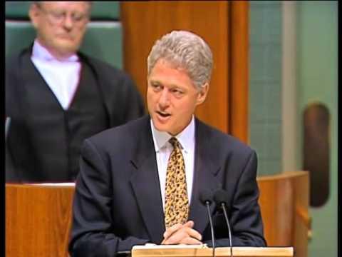 President Clinton's Speech to Australian Parliament (1996)