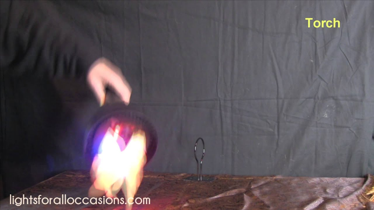 flame light burning torch 4 in 1 battery operated youtube