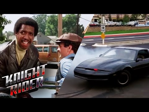Car Thieves Attempt To Steal K.I.T.T. | Knight Rider