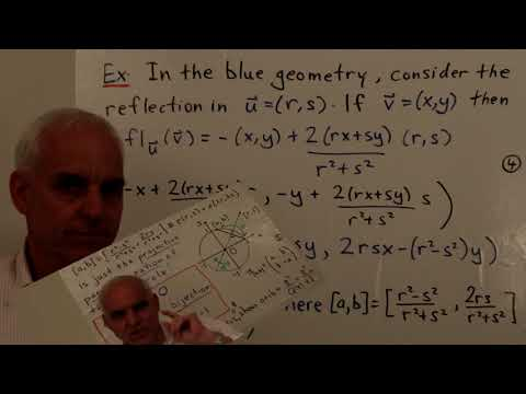 The group of blue planar isometries | WildTrig: Intro to Rational Trigonometry | N J Wildberger
