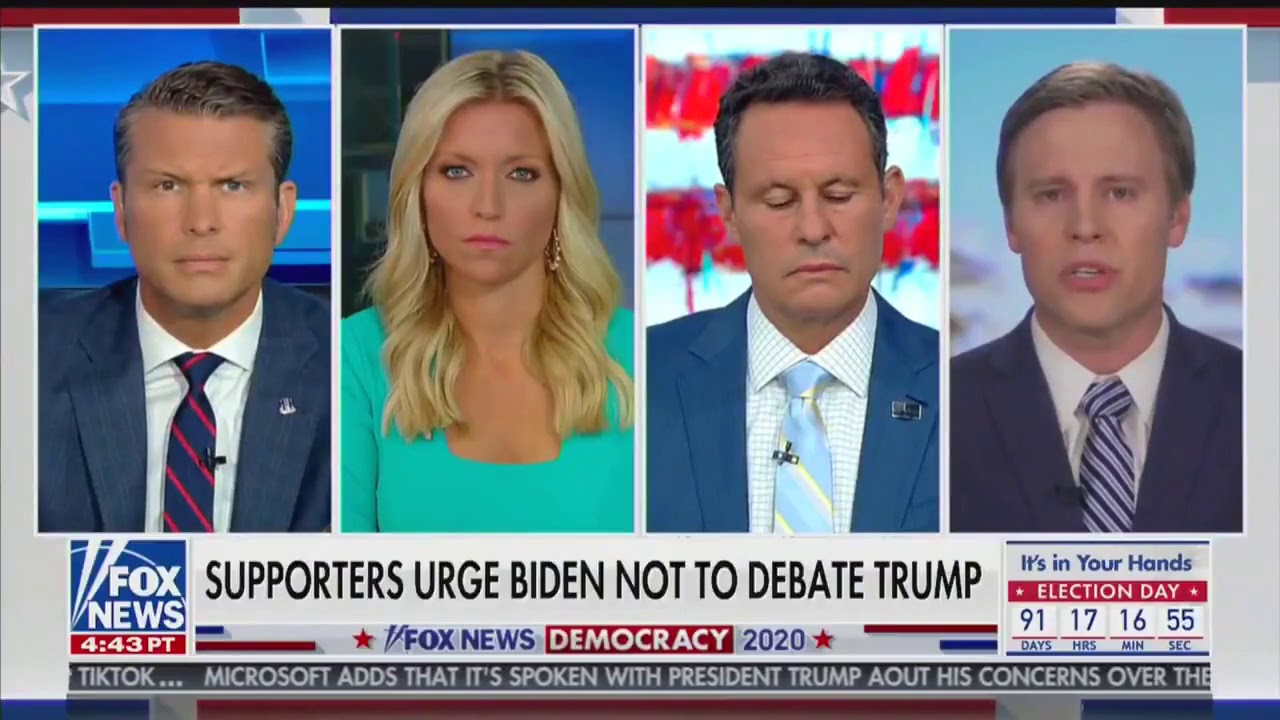 Campaign Manager Bill Stepien on people urging Biden not to debate