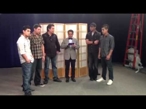 The Apostles - interview TV Azteca