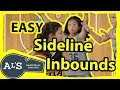 Easy Basketball Sideline Inbounds Plays