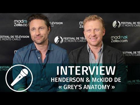 Interview de Martin Henderson & Kevin McKidd de « Grey's Anatomy »