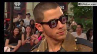 Nick Jonas Talks Kissing Shay Mitchell @ 2016 iHeartRadio MMVAs HD