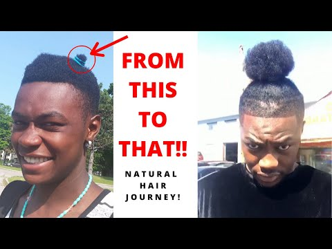 men's-natural-hair-journey-+-pictures-|-growth,-braids-and-curl-transformation