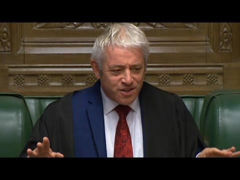 بريطانيا: رئيس مجلس العموم يرفض التصويت على اتفاق بريكسيت مجددا  - نشر قبل 30 دقيقة