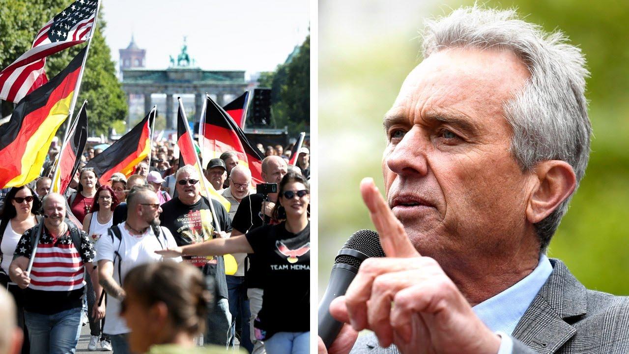 Berlin's anti-COVID19 lockdown protest draws 40,000: Judge orders German police to back off!